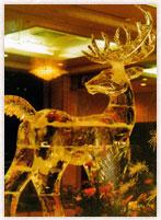 城山観光ホテル・鹿の像